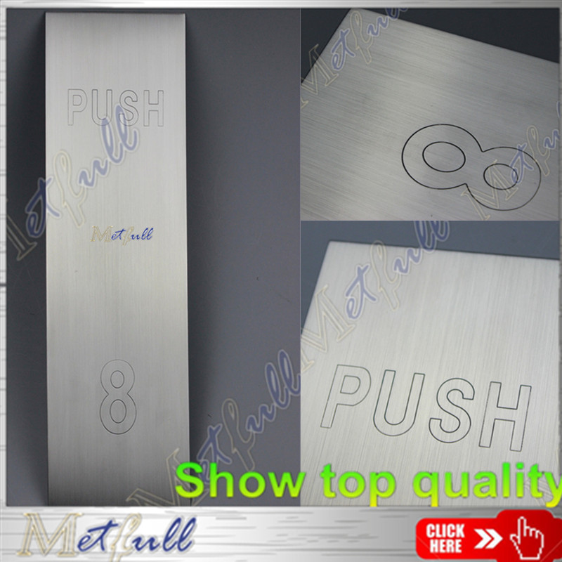 PP001 stamping for sign plate