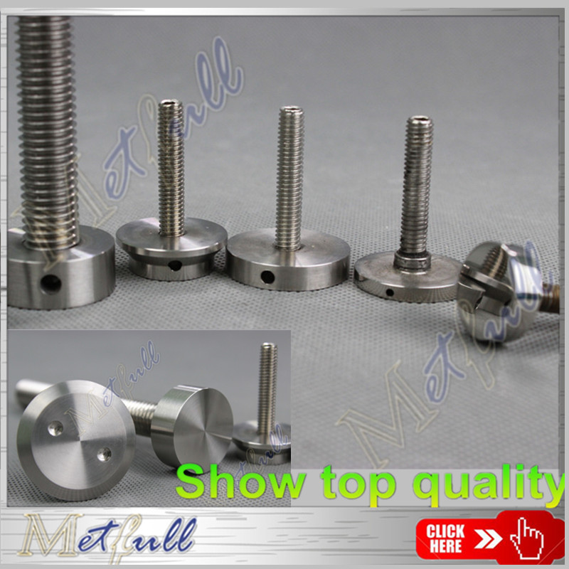 Custom made Stainless steel Solid hat Decorative Screws