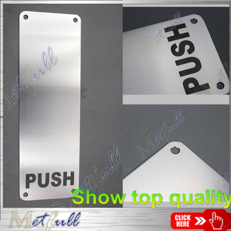 PP001 304 316stainless steel sign  plate
