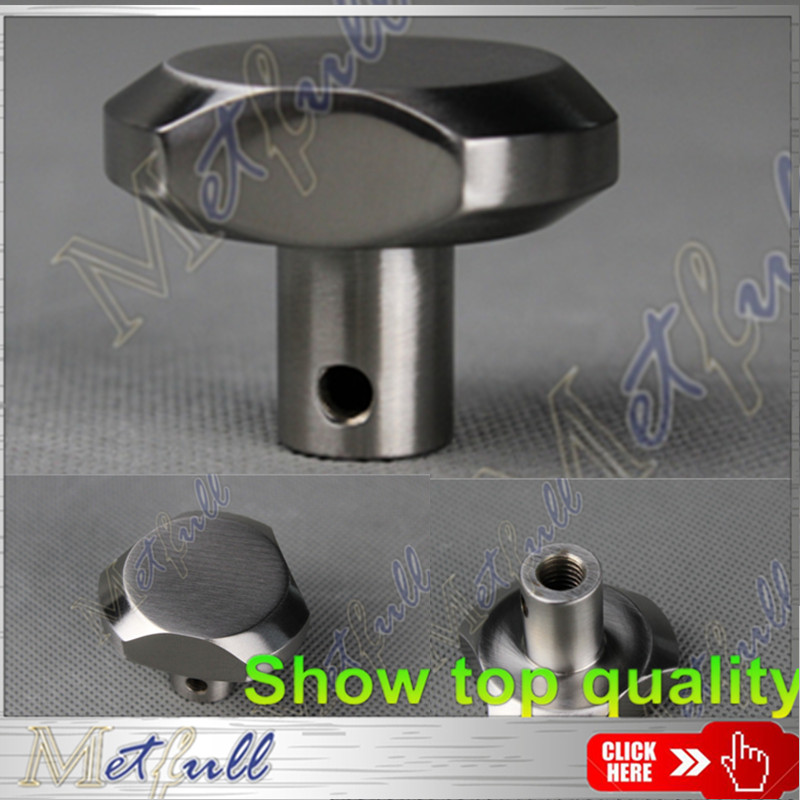 solid stainless steel Six angle rotary knob